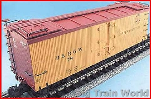 Aristo-Craft 86201 - Reefer Denver & Rio Grande # 78, in good condition, w. box