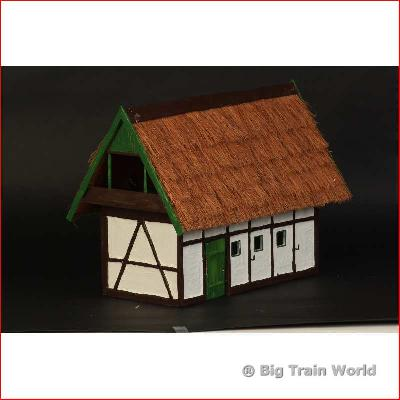 BTW 12501 - Thatched Barn in East German style