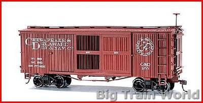 Bachmann 27635 - VENTILATED BOX CARCHESAP & D