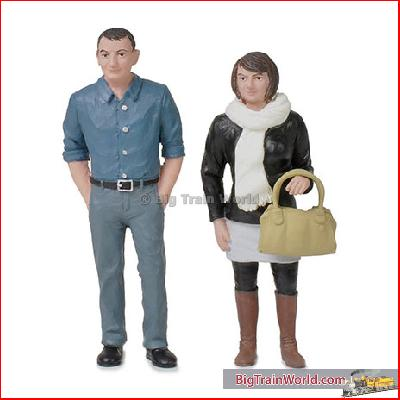 Bachmann 22-178 - Standing Couple - New 2015