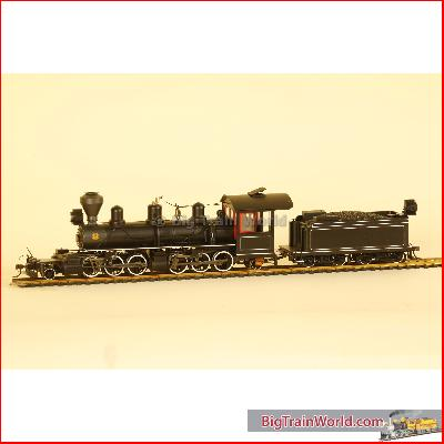 PAINTED WOOD CAB & DIAMOND SMOKE STACK * - O scale