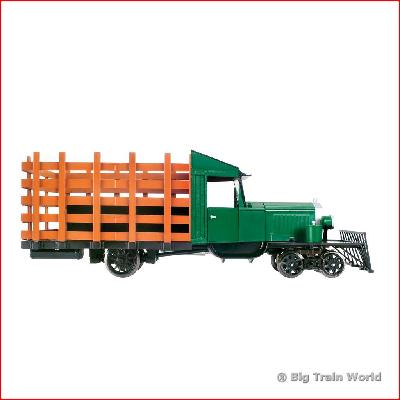 Bachmann 82398 - PAINTED HUNTER GREEN & BLACK G