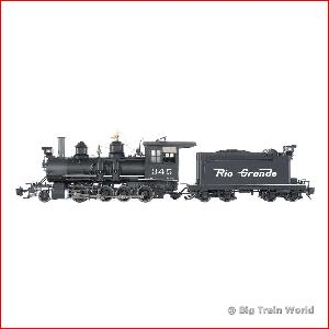 Bachmann 83194 - C-19 D&RGW #345 - Flying Grande With Short Tender