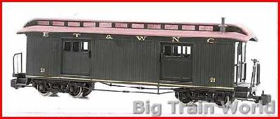 Bachmann 89293 - FULL BAGGAGEET&WNC NO LIGHTS G