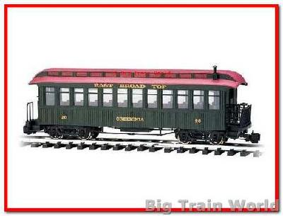 "Bachmann 89694 - Observation East Broad Top ""Orbisonia"", used, no box"