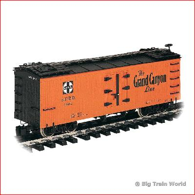 Bachmann 93202 - SANTA FE, metal wheels, in very good condition, with box