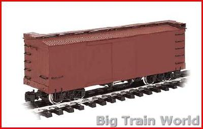 Bachmann 93370 - Box Car Painted, Unlettered (Brown)
