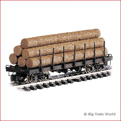 Bachmann 98470 - FLAT LOGS PAINTED G