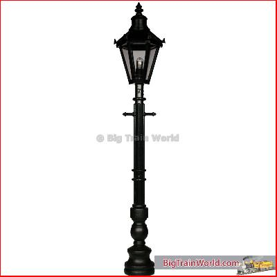 Beli Beco 110041 - Oldtimer streetlight, wood, 210 mm