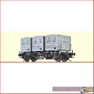 Brawa 37160 - 0 Container Car BTs30 DB, III