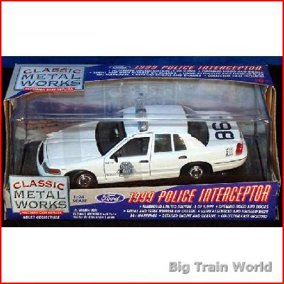 Classic Metal Works 25105 - Ford Police Interceptor 1999, 1:24