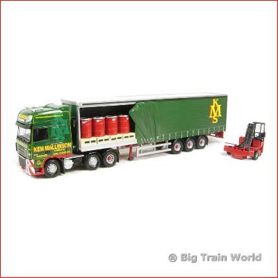 Corgi cc14108 - DAF 105 Open Curtainside with Moffett Mounty, 1:50