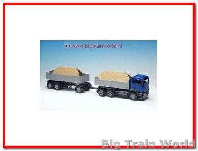 Emek 20264 - MAN Tipper and Trailer 1:25
