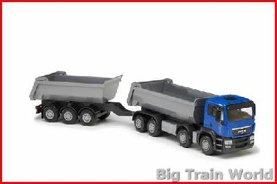 Emek 20664 - MAN Tipper and Trailer 1:25