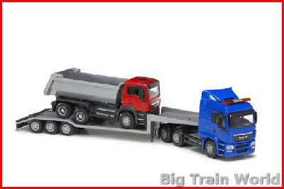 Emek 30174 - MAN TG-A Low Lader and Dump Truck 1:25
