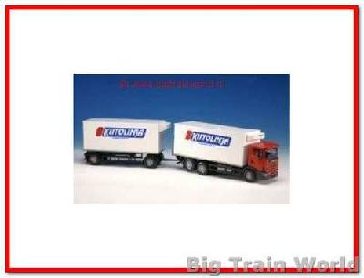 Emek 89745 - Scania Distribution Truck and Trailer 1:25