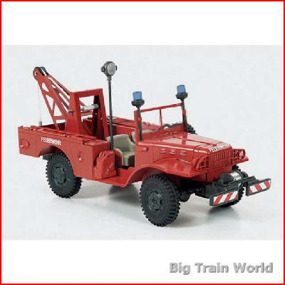 Kaden 386100 - Dodge WC 52 Red 1:24