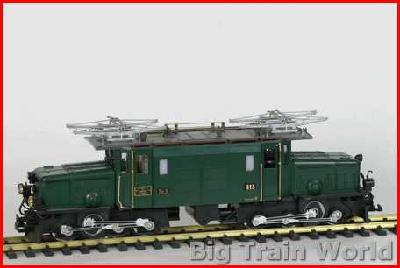 LGB 2140it - Ge 6-6 - RhB - Green, like new, with box