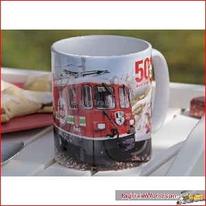 Coffee mug with 50 years LGB logo - LGB 012477