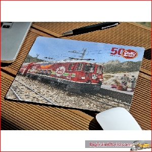 Mouse pad with 50 years LGB logo - LGB 012478
