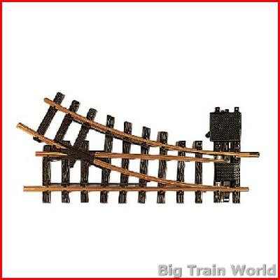 LGB 12000, Manual Switch, Right R1 30 degrees - Big Train World