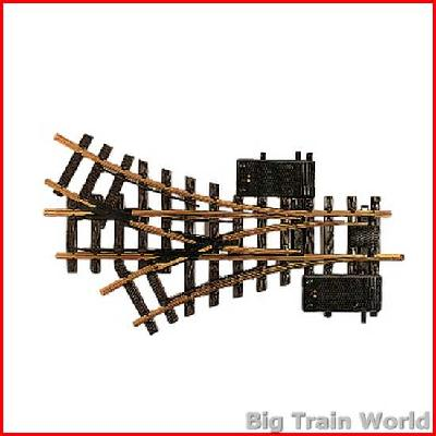 LGB 12360 Electric Three-Way Switch, R1, 30° | Big Train World