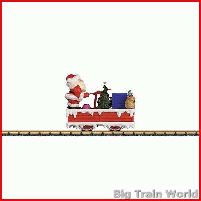 LGB 21011 Christmas Handcar with Santa Claus | Big Train World