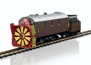LGB 26605 - RhB Xrot Steam Rotary Snowplow - New 2018 - Only pick-up in store!!