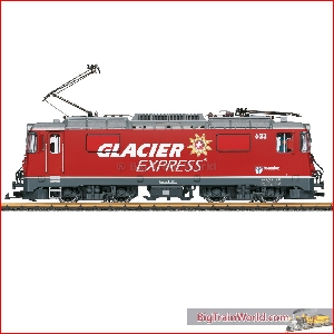 LGB 28446 - RhB Ge 4/4 II Electric Locomotive - Glaciers Express - New 2020