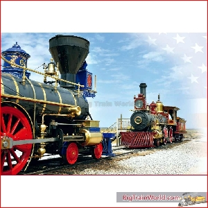 LGB 29000 - Golden Spike Steam Locomotive Set - New 2019