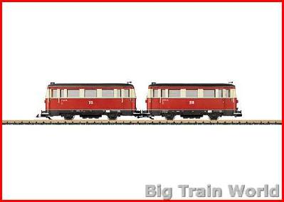 LGB 29655 Railcar set VT 133, DR, Ep III | Big Train World