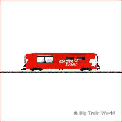 LGB 33667, Glacier Express Dining Car, RhB | Big Train World