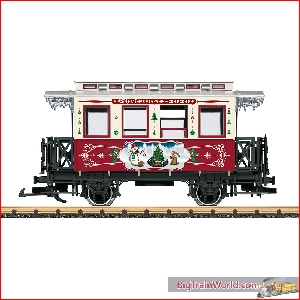 LGB 36020 - Christmas Car for 2020; ---------- - New 2020
