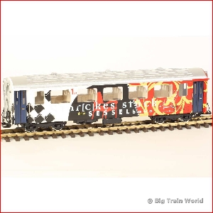 LGB 38670-used - RhB passengercar AS 1171, collectors item