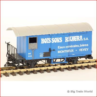 LGB 4029 - Boissons Riviera boxcar, used, with box