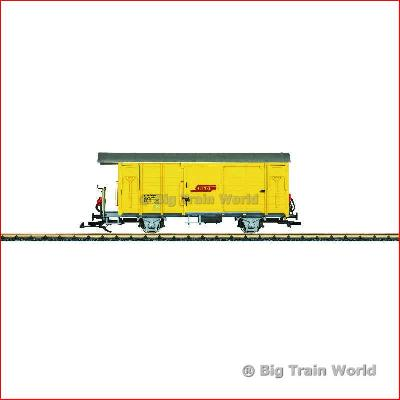 LGB 40816 RhB Type Xk Railroad Maintenance Car | Big Train World