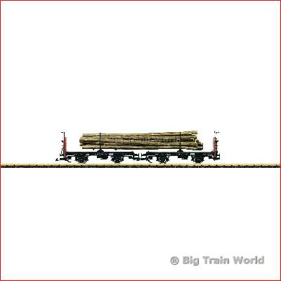 LGB 41039 Pair of Load Cradle Cars of the DR | Big Train World