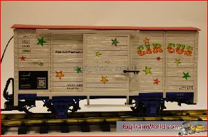 LGB 41362 - LGB CIRCUS BOXCAR WITH MELODY SOUNDS
