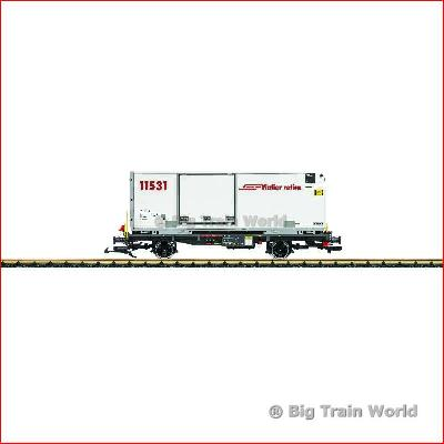 LGB 41891 Container wagon RhB  | Big Train World