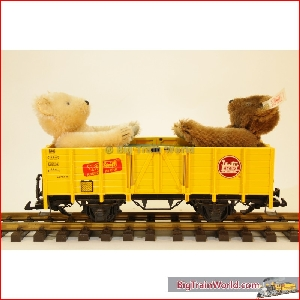 LGB  44210 - STEIFF Barenwagen  Limitiert, like new, with box