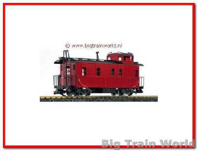 LGB 45790 - Stahl Caboose undecorated