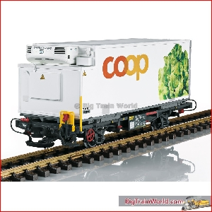 LGB 45899 - RhB Container Car for coop® Lettuce; VI - New 2018