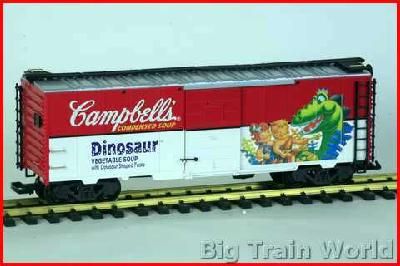 LGB 46910 - CAMPBELL,S Boxcar Dinosaurier