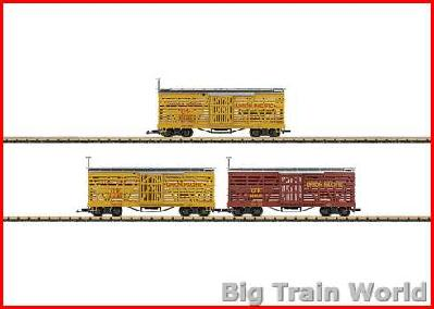 LGB 48681 UP Livestock Car Set | Big Train World