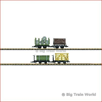 LGB 49170 Gondola Car Set | Big Train World