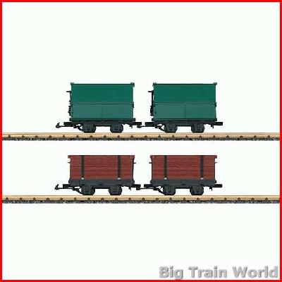 LGB 49190 Light Railway Car Set | Big Train World