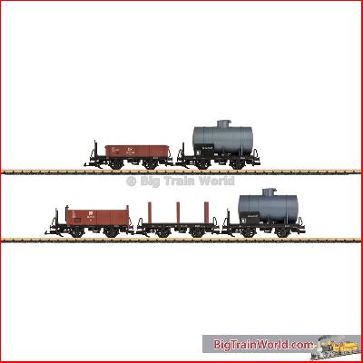 LGB 49550 DR Car Set | Big Train World