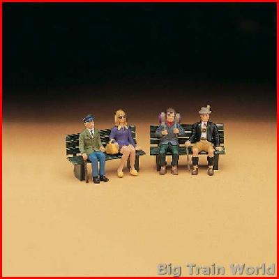 LGB 51420 Amerikanische Figuren, sitzend | Big Train World