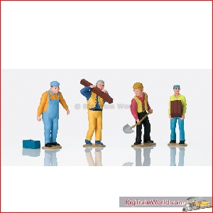 LGB 53005 - Set of Worker Figures; ---------- - New 2020
