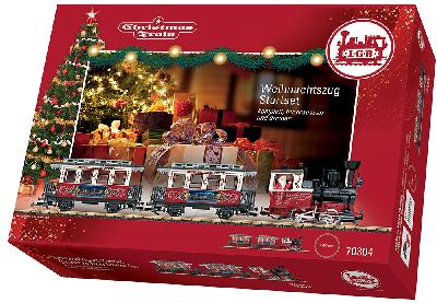 LGB 70304 - Christmas Train Starterset